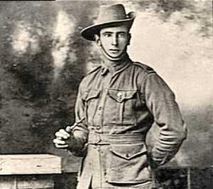 Pte Walter Vivian Elliott, died Gallipoli, 1915.