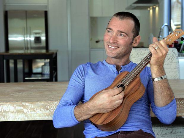 Adam Brand at home in Palm Beach.