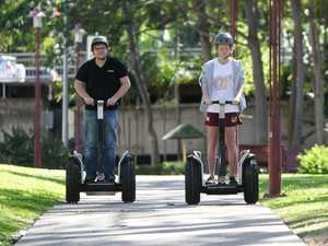 Segways are coming to a foot path near you next month