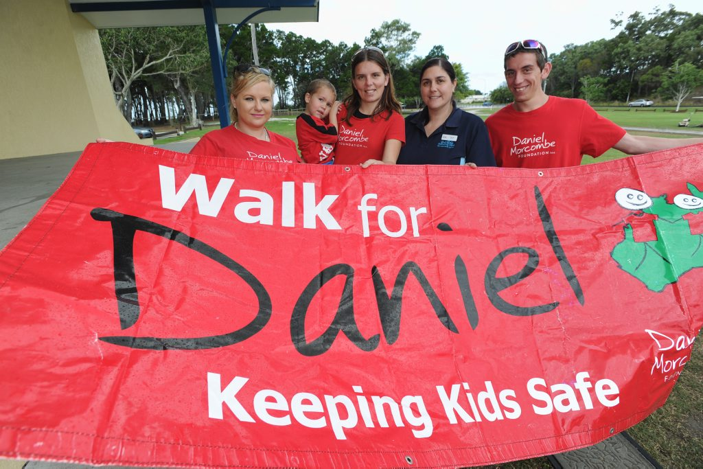 Walk for Daniel events will be held across Australia on Friday.
