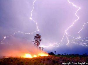 Fearless storm chaser captures winning calendar shot