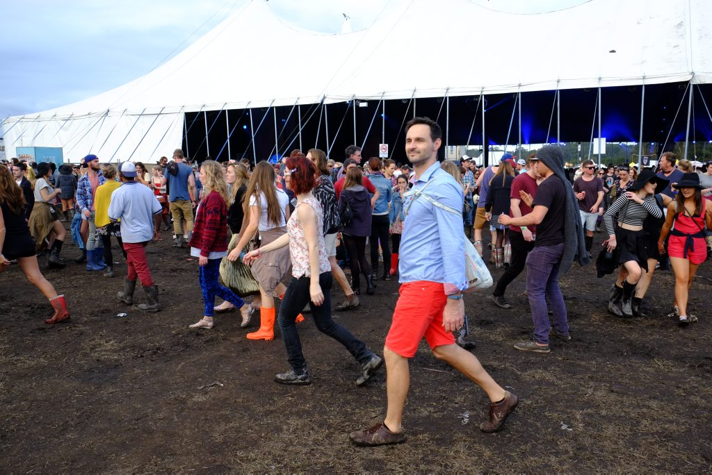 Festival goers at this year's Splendour in the Grass.