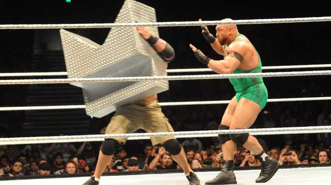 All the action from the RAW Live show in Brisbane on Sunday, July 28, 2013.