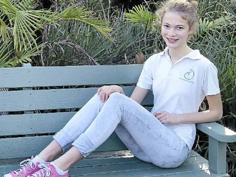 TALENTED: Athlete Marlie Campton is hoping to secure a berth at the World Schools Championship.