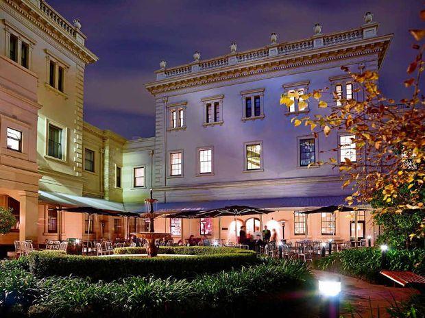 The grand Adina Apartment Hotel Adelaide Treasury.