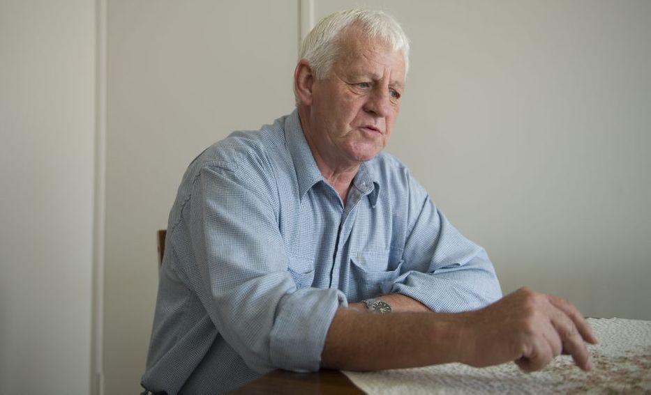 Kearneys Spring man Warren Williams describes how he was tricked by online scammers.