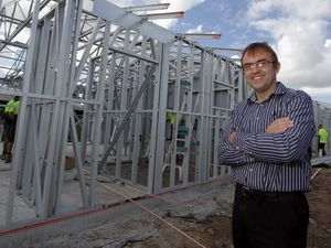 Affordable units project on target for October finish