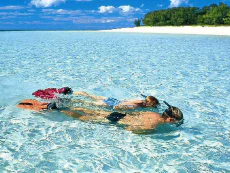 Heron Island is a great escape for the family or for couples.