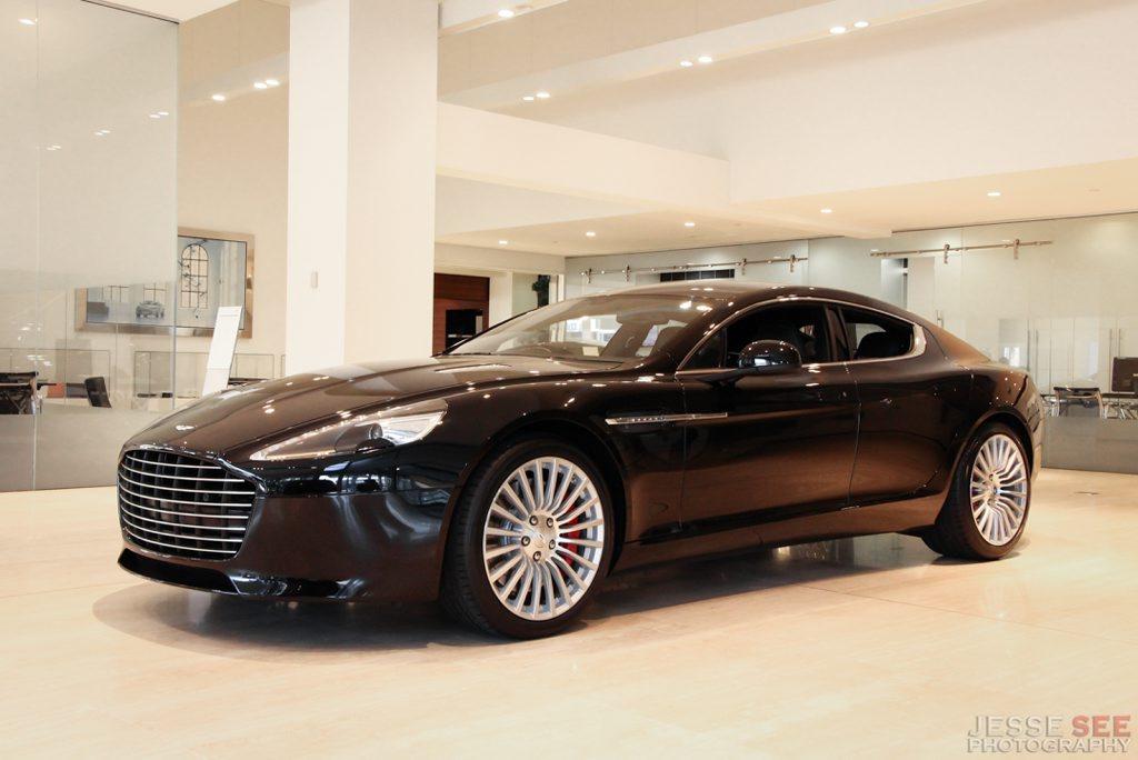 The Aston Martin Rapide S.