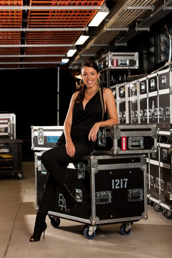 Dannii Minogue is a judge on The X Factor Australia.