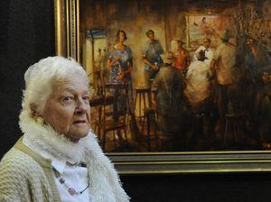 Friendship formed in a Kogan pub captured on canvas