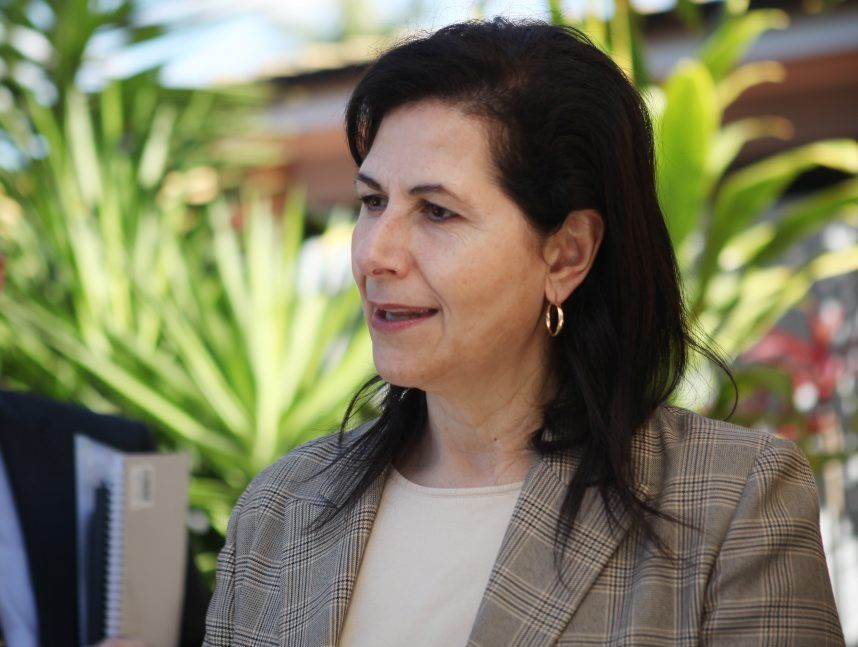 Shadow Minister for Ageing and Shadow Minister for Mental Health Senator Concetta Fierravanti-Wells in Rockhampton. Photo Allan Reinikka / The Morning Bulletin