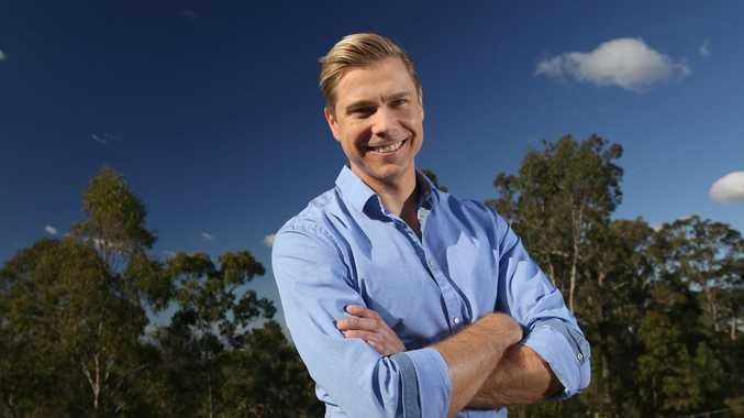 Channel 10's new Queensland weather presenter Josh Holt.