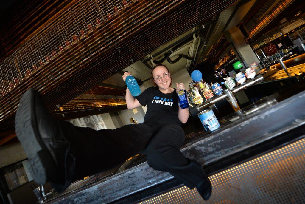 Kaitey Beard is raising money in the U.G.L.Y Bartender fundraiser.