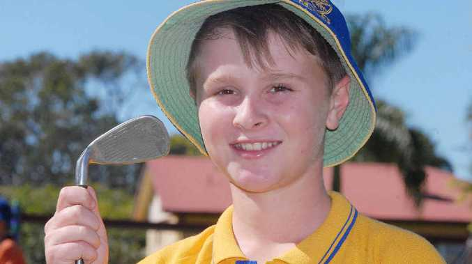 Young golfer Caleb Purdey will play in the national championships.