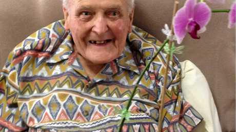 Ken Burgess celebrates his 90th birthday.
