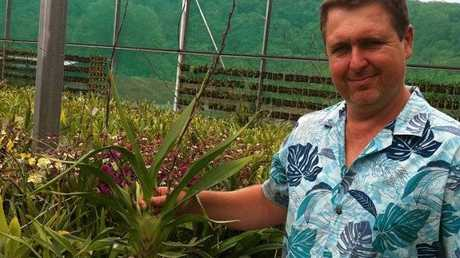 Sam Cowie, who has 35 years of horticultural experience, will host an information session at the Hervey Bay Orchid House on Thursday, August 8.
