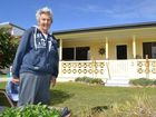 Norma Stone of Brooms Head offerred her phone to her neighbours the Grays and was worried how they would contact a doctor in an emergency. Photo Lachlan Thompson / Daily Examiner