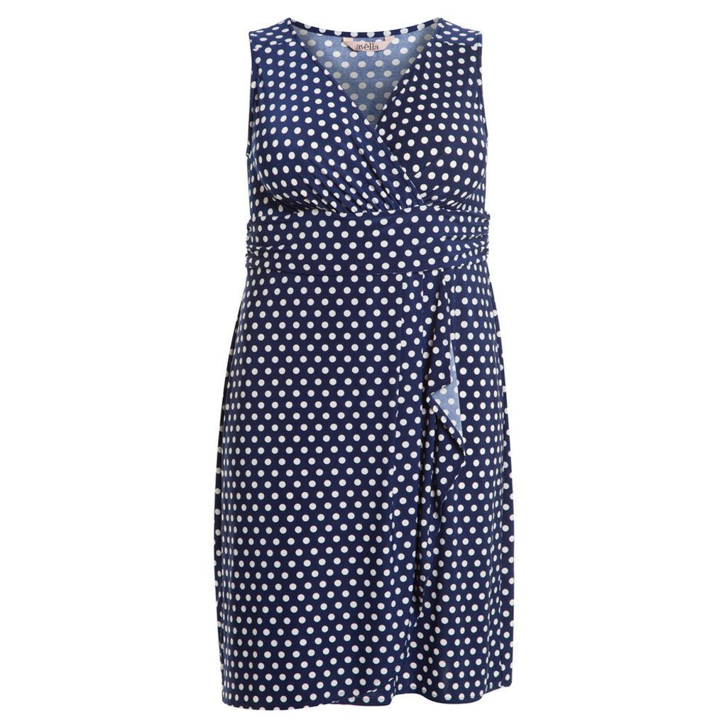 Big W - Avella Polka Dot Wrap Dress - $25