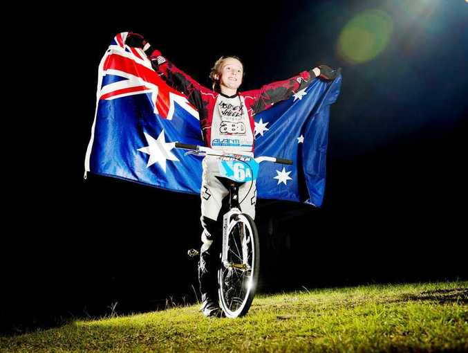 Talented BMX rider Chloe Molan is heading off to New Zealand this week to represent Australia in a Trans Tasman Test Series.