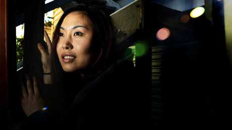 SPOOKED: Rosewood Hotel manager Yannan Lee is curious to find out what is behind the mysterious orbs seen on security footage.