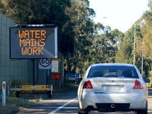 Tweed lane closures to make way for new water pipe