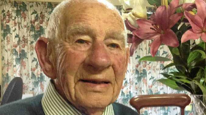 STILL LOVING LIFE: Bruce Mackenzie turned 95 last week.