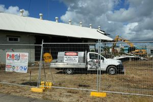 Construction has been put on standby at the new McDonalds in Murwillumbah.