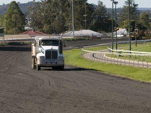 Clifford Park track conversion underway in earnest