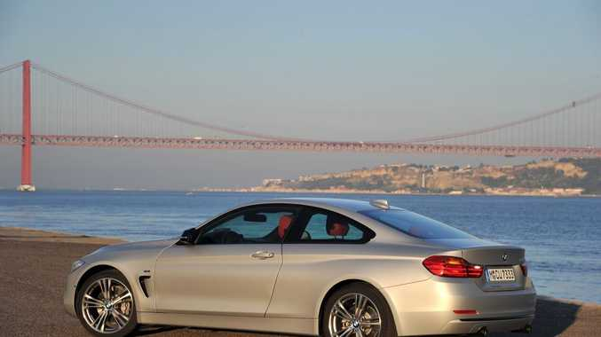 The new BMW 4 Series Coupe.