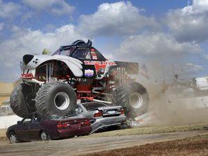 Tassie Devil monster truck revs up in Gladstone