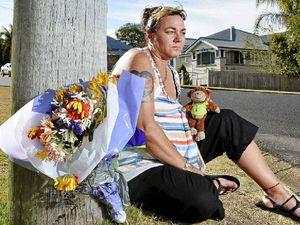 Grieving mum wants steel cross returned