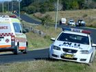 TRAGEDY: Emergency services at the scene of a fatal car crash between two cars at Dyraaba in June. Three people died.