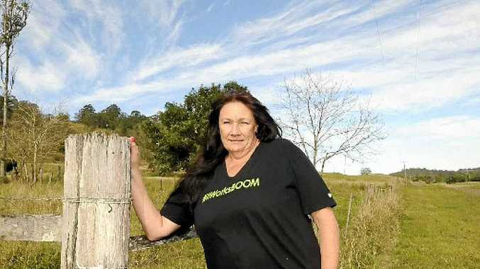 SPEAKING UP: Vicki Joy wants public awareness and education on sharing the road.