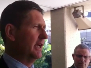 Lawrence Springborg makes announcement on health pay bungle