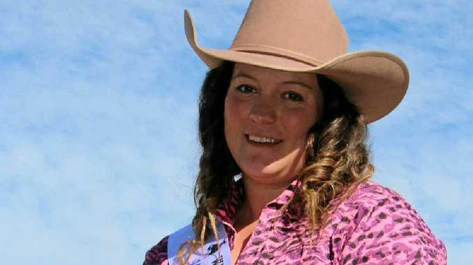 BUSY PROGRAM: Rodeo Queen quest entrant Megan Leech has already started organising her fundraising events.