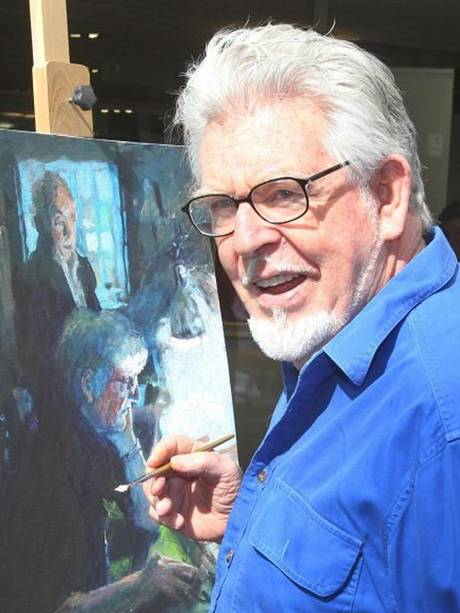 Australian entertainer Rolf Harris.