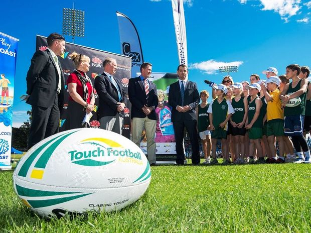 Coffs Harbour's newly named C.ex Coffs International Stadium will play host to the 2015 FIT Touch Football World Cup.