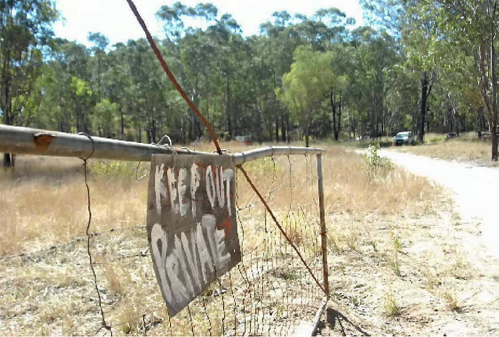 An illicit drug lab was found at a property on The Narrows Rd, Mt Larcom.