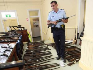 Weapons bust at Mount Morgan biggest in CQ history