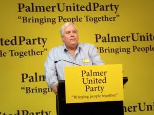 Clive Palmer announces platform