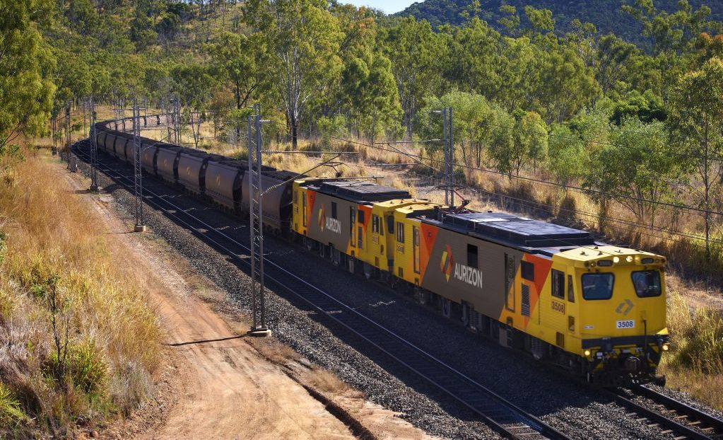 Aurizon is working to reopen its flood-damaged rail line.