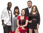 Australia's Got Talent 2013 judges, from left, Timomatic, Dawn French, host Julia Morris, Kyle Sandilands and Gerri Halliwell.