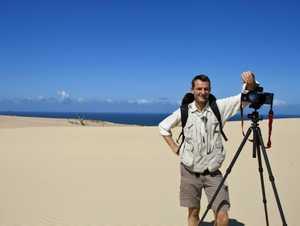 Fraser Island photographer and part-time Kingfisher Bay Resort ranger guide Peter Meyer.