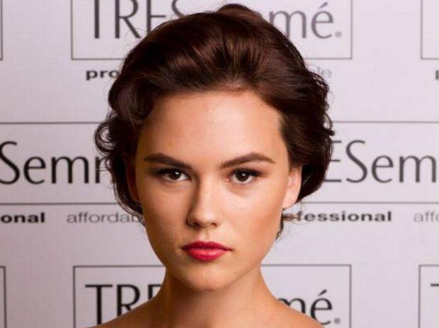 Tweed beauty April Harvey recently left Australia's Next Top Model.