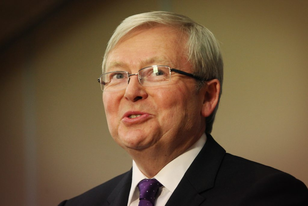 Kevin Rudd has announced his retirement from federal politics.