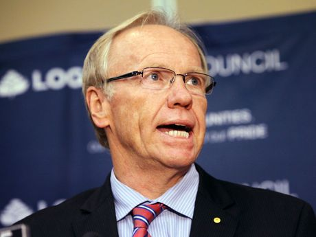 As Queensland Premier, Peter Beattie forced through council amalgamations in 2008
