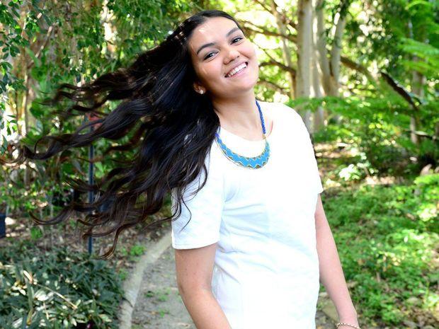 Deirdre Jones of Rockhampton is one of 25 Finalists of the Schwarzkopf Australia's Most Beautiful Hair competition.