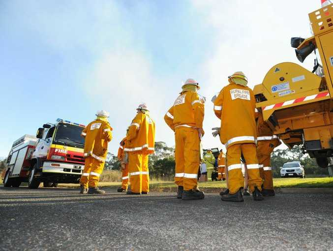ON ALERT: The Rural Fire Service is preparing for the potential of serious bushfires flaring up this weekend and into next week.