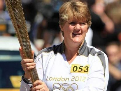 UK TV presenter Clare Balding